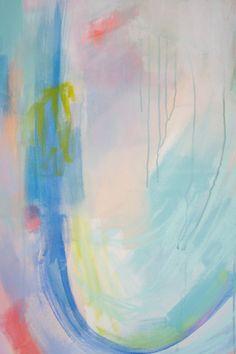 Tres son multitud Original pintura 30 x 40 en por BrennaGiessen
