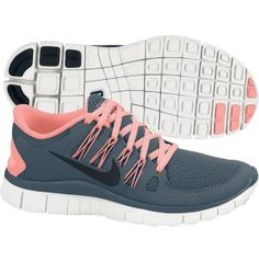 bricapoz24's save of Nike Women's Free 5.0+ Running Shoe - Armory/Pink | DICK'S Sporting Goods on Wanelo