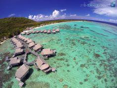 On vous offre ici un autre point de vue sur le magnifique hôtel Sofitel Moorea Ia Ora Beach Resort et son cadre naturel exceptionnel. La vue est plutôt sympa, non ? http://www.etahititravel.pf/