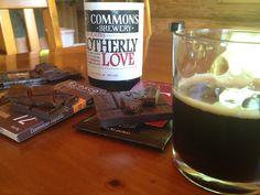 Brotherly Love Belgian Dark Beer with Notes of Bourbon, Cherry, and Chocolate | finding fine chocolate