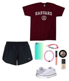 """""""Contest NEW RTD"""" by eadurbala08 ❤ liked on Polyvore featuring NIKE, Converse, Casetify, Feather & Stone, NARS Cosmetics, Smashbox and emilysvacation"""