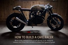 How to build a cafe racer - Bike EXIF Yamaha Cafe Racer, Cafe Bike, Cafe Racer Build, Cafe Racers, K100, Honda Cx500, Brat Cafe, Honda Motorcycles, Custom Motorcycles