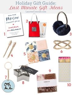 Holiday Gift Guide: Last Minute Gift Ideas
