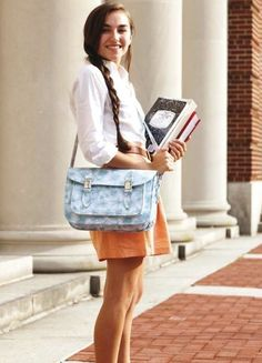 The 'Too Cool for School' Satchel