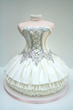 Besondere Ballet Kleid Cake Design ♥ Einzigartige Tea Party, Bridal Shower oder Hochzeit Dusche Kuchen-Ideen