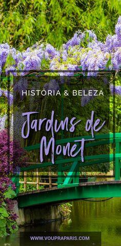Os Jardins de Monet em Giverny são um sonho da maioria dos turistas que visitam Paris. Giverny foi o paraíso de Monet até a sua morte em 1926. Além de seu local de residência, foi também um local de grande inspiração. É um ótimo passeio bate e volta desde Paris. #Giverny #Monet #JardinsdeMonet #Nenufares #Vernon #Obras #Paris #France #França #pontoturísticos
