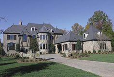 European House Plans 3323-00530