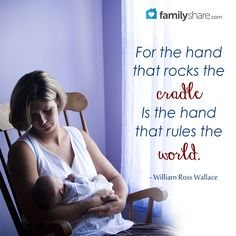 the hand that rocks the cradle rules the world meaning