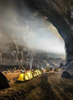 Han Son Doong Cave in Vietnam