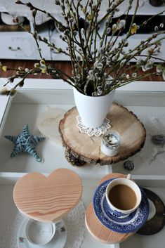 dekoracje domu, serce, serce drewniane, pracownia A.D.Home