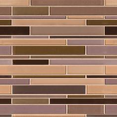 Artistic Tile | Opera Glass Collection; Diva Gloss and Satin Mix Stilato Linear