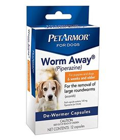 PetArmor 12 Count Worm-Away Caps for Dogs * You can get additional details at the affiliate link Amazon.com.