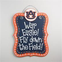 Glory Haus Auburn Hanging Board Officially Licensed auburnloveitshowit.com