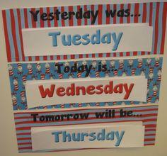 ~ complete printable Dr. Seuss themed calendar plus more ~ $4.00 ~ TPT ~