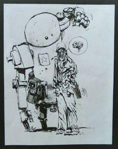 Ashley Wood Cover Zombies Robots Amazons. Popbot. Comic Art