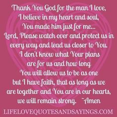 Love and marriage prayer