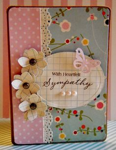 With Heartfelt Sympathy - by Lisa Young - Scrapbook.com