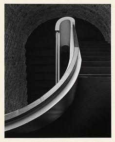 Max DUPAIN, Stair rail 1975; gelatin silver photograph 37.8x30.2cm © Max Dupain. National Gallery of Australia collection
