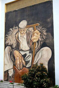 Street ART_ Orgosolo Sardinian