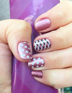 Jamberry Pixie with Pop Heart and Overlap
