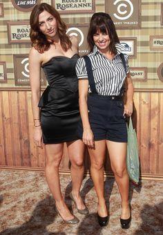 Comedians Chelsea Peretti & Natasha Leggero