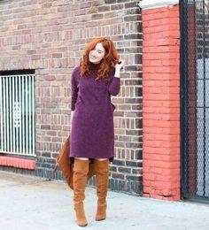 TfDiaries By Megan Zietz: Winter Essential: Sweater Dress
