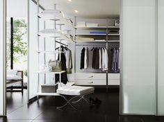 Traum: Begehbarer Kleiderschrank #News #Schlafzimmer
