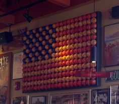 Baseball Flag for boy's room.