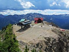 Eagle's Eye and gondola at Kicking Horse Mountain Resort, Golden, BC, Canada