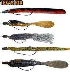 1000 images about bass fishing soft plastic lures on for Tube fishing lure