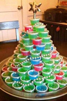christmas party for the adults one made out of jello shots 51 life saving holiday hacks that images hd ideas Christmas Jello Shots, Adult Christmas Party, Tacky Christmas, Christmas Hacks, Christmas Party Games, Christmas Party Ideas For Adults, Holiday Parties, Merry Christmas, Decoupage
