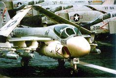 A6-A Intruder. VA-176 Thunderbolts.