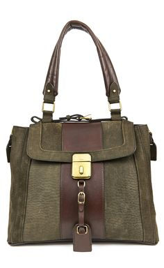 Chloé Tan And Brown Handbag