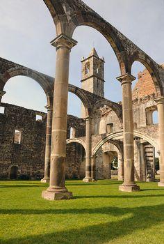 Ex Convento de Tecali  Puebla  Mexico