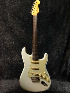 Fender Custom Shop ''Guitar Planet Exclusive'' 1960 Stratocaster Relic -Super Faded Sonic Blue- 新品[フェンダーカスタムショップ][Stratocaster,ストラトキャスタータイプ][ソニックブルー,青][Electric Guitar,エレキギター]
