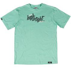 High and Tight Script Mint T-Shirt #Jiberish