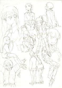 Artwork by Moeka Kuga  The winner of 2nd Annual Rookie Animator Award.