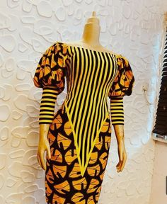 african fashion ankara Fashionable Ankara Styles to slay is the trend we have decided to put up for you to consider this time when you have gotten a nice Ankara Fabric and African Fashion Ankara, Latest African Fashion Dresses, African Dresses For Women, African Print Fashion, Africa Fashion, African Attire, Ankara Gown Styles, Ankara Dress, Ankara Fabric
