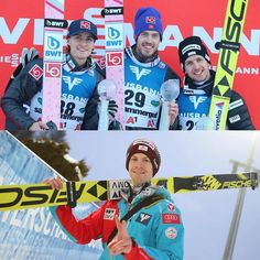 First world cup victory for Andreas Stjernen today. Also good jumping by Michael Hayböck. Can't wait for tomorrow's competition