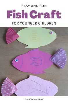 A few months ago, I started making Bible lessons for my 4 year old that I taught her specifically on Sabbath days. One of these lessons was about the miracle Jesus performed when He filled the nets with fish. #fishcraft #biblecrafts #kidscraft Bible Crafts For Kids, Easy Crafts For Kids, Toddler Crafts, Preschool Activities, Sunday School Activities, Bible Activities, Indoor Activities For Kids, Fish Crafts, Christian Kids