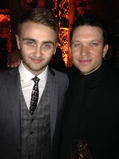 20.Jan. 26, LA:  With Guy Lawrence of Disclosure in his limited-edition Cherrytree tie, designed by Kev Nish of Far East Movement
