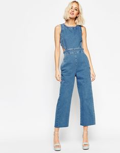 2e6e68b9bf61 14 Denim Jumpsuits That Make Getting Dressed on Winter Mornings a Snap