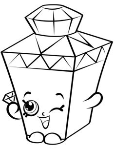 limited edition gemma gem to colour shopkins season 4 coloring pages printable and coloring book to print for free find more coloring pages online for kids - Hopkins Coloring Pages Print