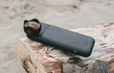 the Moment Battery Super Case charges your phone and has an attachable wide angle mobile phone lens