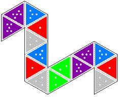 hexaflexagon template and instructions