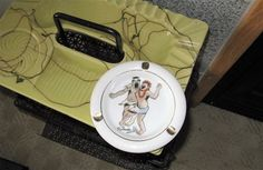 Vintage 1950's TRADER VIC ashtray Drunken by TheInstantMemory