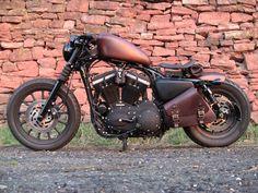 Harley-Davidson Iron 883 Custom. Very Cool! :D