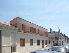Surélévation d'une échoppe à Bordeaux - Krauss Architecture
