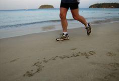 Утренняя пробежка по пляжу, факторы здоровья