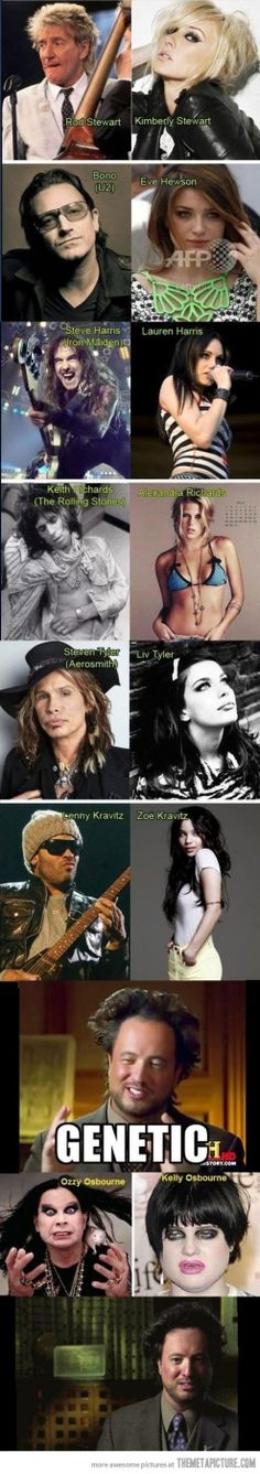 funny famous rockers daughters beautiful